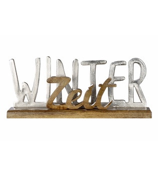 Schriftzug-Winterzeit_Wohnaccessoire_gruenzimmer-shop_Strandkoerbe-und-gartenmoebel