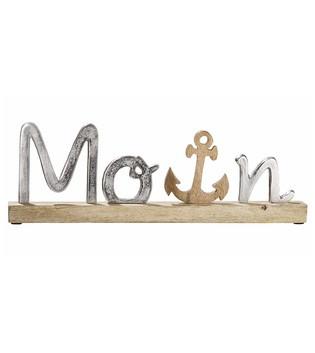 Schriftzug-Moin-aus-aluminium-mit-Anker_Wohnaccessoire_gruenzimmer-shop_Strandkoerbe-und-gartenmoebel1