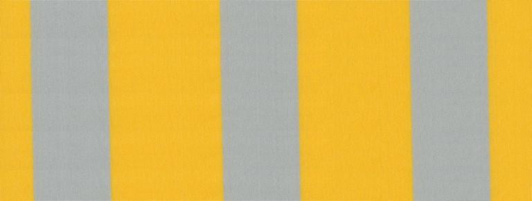 classic listado gris amarillo